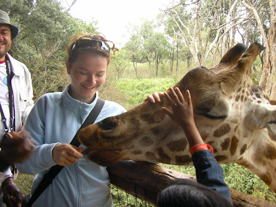 Obietictive turistice Nairobi: centru de girafe