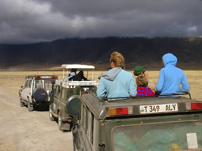 safari in craterul Ngorongoro
