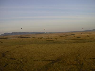 Safari Kenya: zbor cu balonul