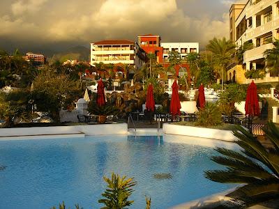 Piscina hotel Tenerife