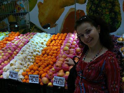 Piata de fructe din Manila