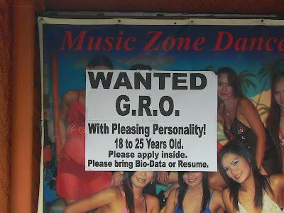 anunt recrutare fete pentru go go bar