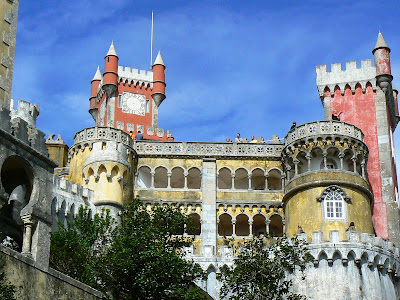 Imagini Portugalia: Palacio da Pena Sintra