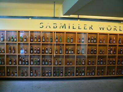 Obiective turisitce Cehia: berile SAB Miller la Plzen