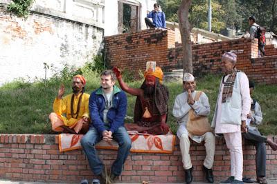 Razvan Marc la Pashupatinath, Nepal