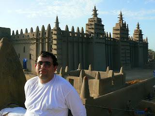 Obiective turistice Djenne: moscheea