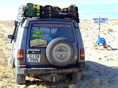 Obiective turistice Sahara Occidentala: la tropicul Racului