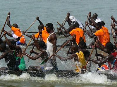 Eveniment Mali: concurs pirogi Mopti