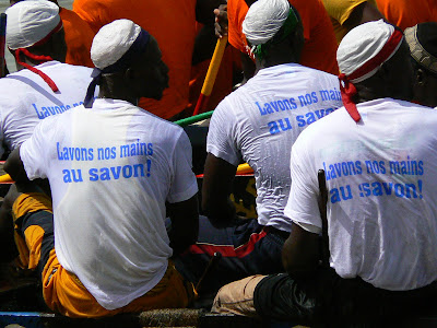 Imagini Mali: concurs pirogi Mopti