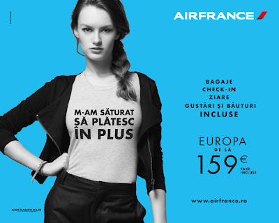 Air France promotii