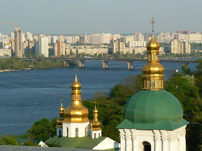 Imagini Ucraina: Pecharska Lavra Kiev, Nipru