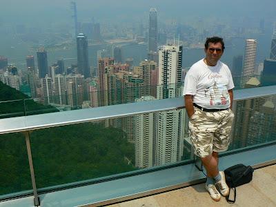 Imagini Hong Kong: panorama de pe Victoria Peak