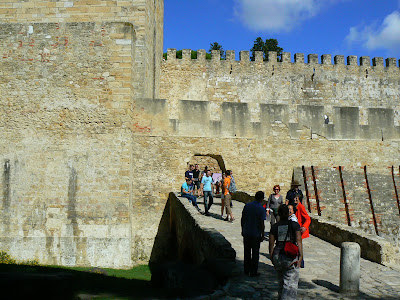 Imagini Portugalia: Castelul St. Jorge Lisabona
