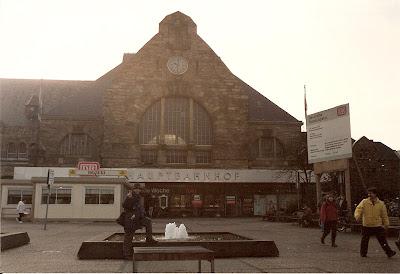 Transport Germania: gara Hauptbanhof, Aachen, RFG