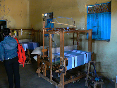 Imagini Etiopia: fabrica de tesaturi Awramba