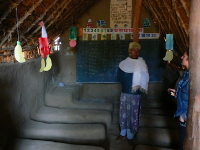 Imagini Etiopia: scoala la Awramba