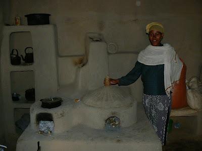 Imagini Etiopia: cuptor injera Awramba