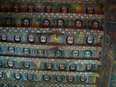 Imagini Etiopia: capela sixtina din Gonder