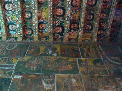 Imagini Etiopia: biserica din Gonder