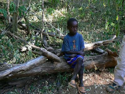 Imagini Etiopia:  printul mostenitor Konso