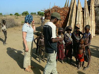 Imagini Etiopia: tribul Arbore