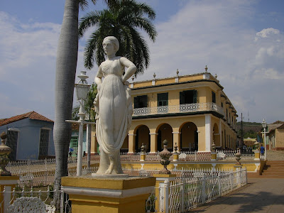 Imagini Cuba: Plaza Mayor Trinidad