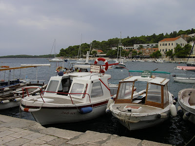 Imagini Croatia: yahturi in Hvar