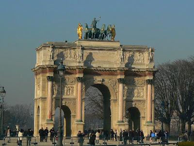 Imagini Franta: Arcul de Triumf de la Carousel, Paris