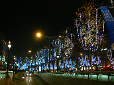 Obiective turistice Franta: Champs Elysees Paris