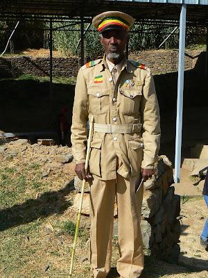 Imagini Etiopia: sosia lui Haile Sellasie Aksum