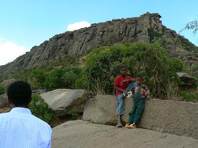 Obiective turistice Etiopia: cariera de stelae Aksum