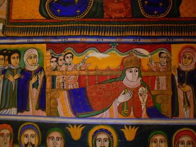 Imagini Etiopia: Sf. Maria din Sion, Aksum, fresce