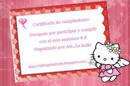 Certificado de Cumplimiento !!!