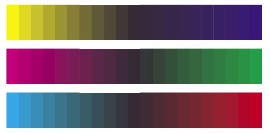 Silvio armonia - Scale di colore ...