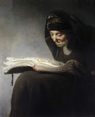 (Mother Reading) Rembrandt Van Rijn, 1629