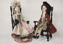 English wooden dolls (Late 17th century)