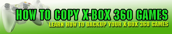 How to Copy Xbox 360 games