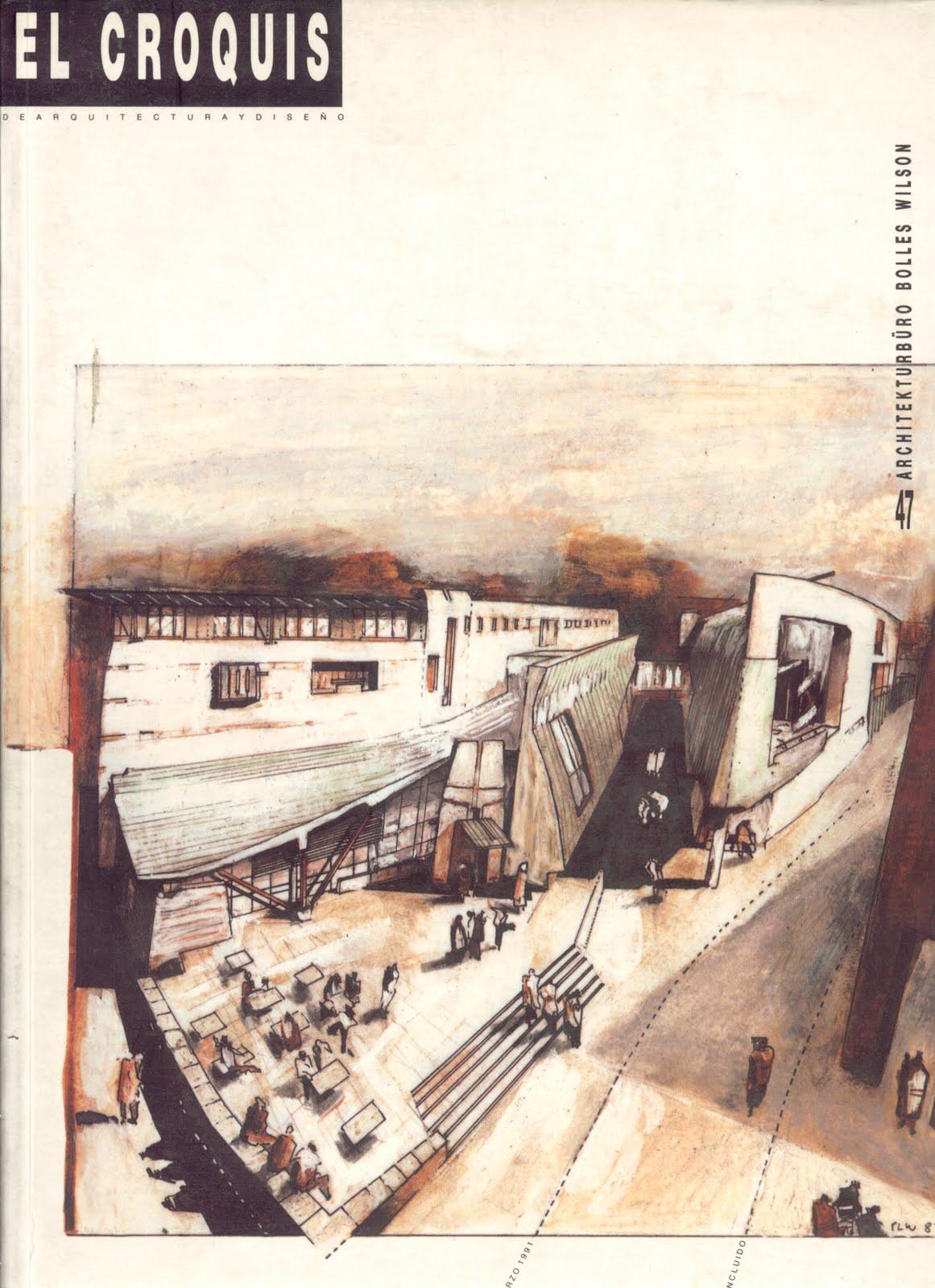 Architecture landscape el croquis 47 bolles wilson for El croquis pdf
