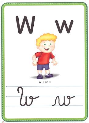 ALFABETO+LETRA+W A PEDIDOS: + UM ALFABETO ILUSTRADO! para crianças