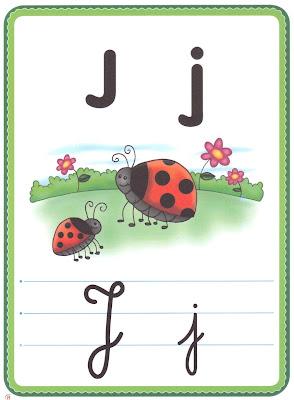 ALFABETO+LETRA+J A PEDIDOS: + UM ALFABETO ILUSTRADO! para crianças