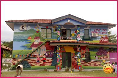 Tulisan khat joy studio design gallery best design for Contoh lukisan mural tadika