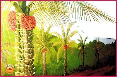 Mural painting mural buah buahan for Mural tadika