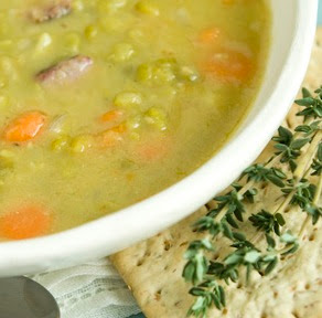 Serving Recipes at Home: Split Pea and Ham Soup