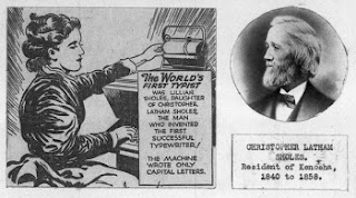 World's First Typist