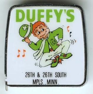 Tape measure giveaway from Duffy's