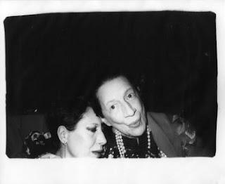 Elsa Peretti and Diana Vreeland, ca, 1975