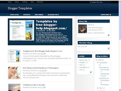 Download 3 column template Hybrid News