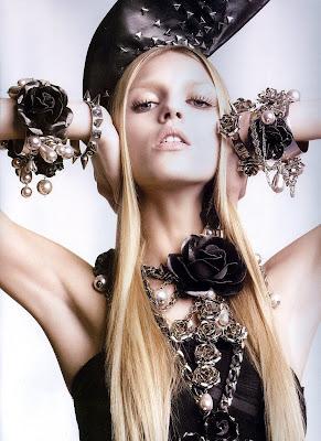 Miss Freja: Anja Rubik for Numéro #62, March 2005
