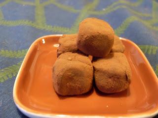 chokladtryffel med nougat