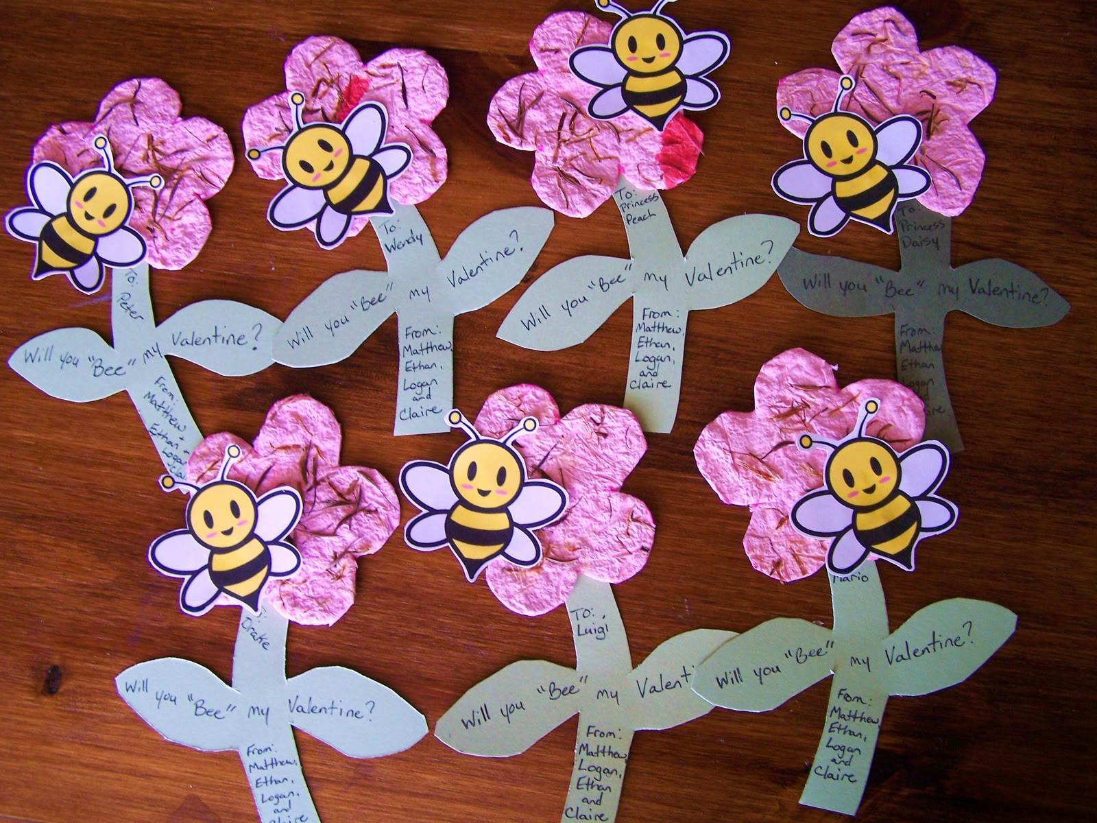 At the Butterfly Ball Will you Bee my Valentine – Bee My Valentine Card